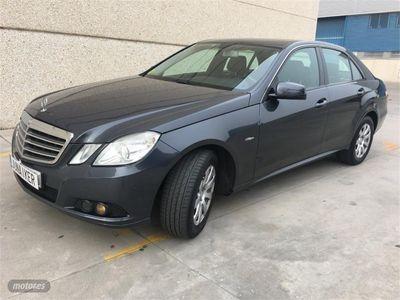 brugt Mercedes E200 Clase ECDI Blue Efficiency