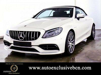 usado Mercedes C63 AMG Clase C Cabrio AMG