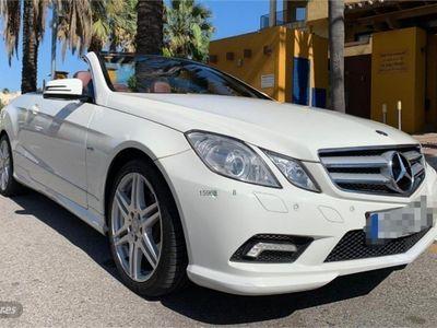 usado Mercedes E350 Clase E CabrioCDI BE Avantgarde