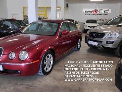 usado Jaguar S-Type 2.7D V6 Executive NAVEGADOR, PIEL, XENON, TELF...