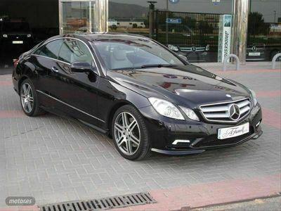 usado Mercedes E500 Clase E CoupeAvantgarde
