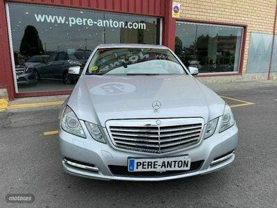 usado Mercedes E250 Clase ECDI 4M Blue Efficiency Avantgarde