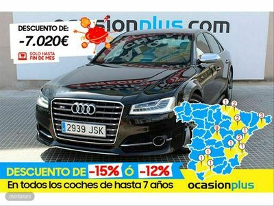 usado Audi S8 plus 4.0 TFSI quattro tiptronic