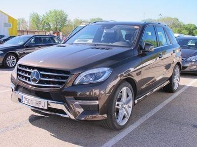 usado Mercedes 350 Clase m L4MATIC BLUEEFFICIENCY