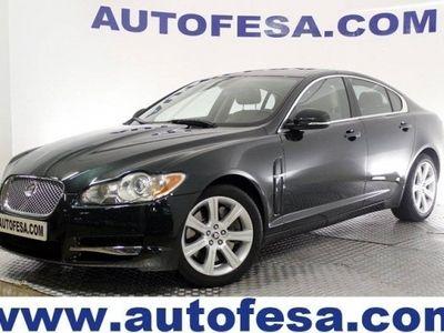 usado Jaguar XF 3.0 V6 DIESEL LUXURY AUTO 240CV 4P #CUERO,XENON,