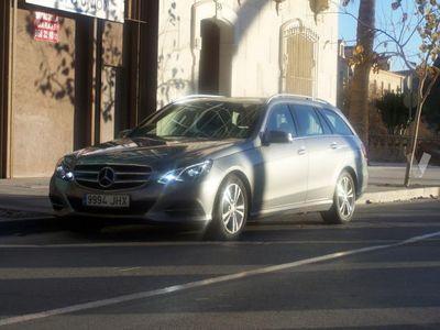 usado Mercedes E200 Clase ECDI Avantgarde Estate -13