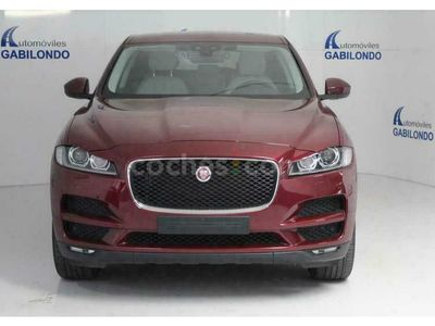 usado Jaguar F-Pace 3.0tdv6 Prestige Aut. Awd 300 cv en Valladolid