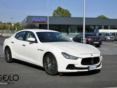 usado Maserati Ghibli 3.0 V6 BT 330cv RWD