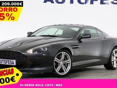 usado Aston Martin DB9 Coupé 6.0 V12 470cv 2p Touchtronic II # IVA DEDUCIBLE,GPS,CUERO
