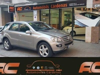 usado Mercedes ML280 CDI Aut.4 MATIC TECHO-SUSPENSION NEUMATICA-PACK S