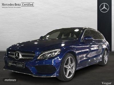 usado Mercedes C220 Clase CEstate BlueTEC / d Estate AMG Line