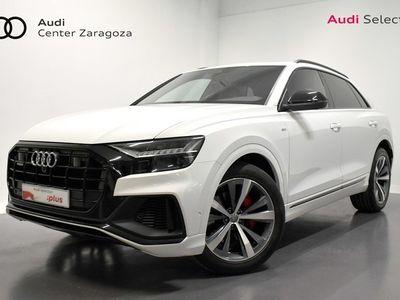 usado Audi Q8 50 TDI quattro 210 kW (286 CV) tiptronic Diésel Blanco matriculado el 09/2019