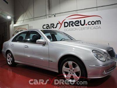 usado Mercedes 500 Clase E CLASE4MATIC AVANTGARDE AUTO