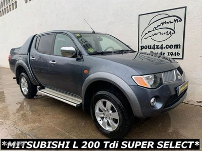 usado Mitsubishi L 200 Doble Cabina 4X4 Intense Plus