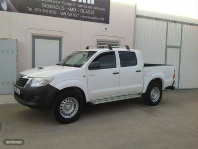 usado Toyota HiLux 2.5 D4D Doble Cabina GX 4x4 Aire acond.