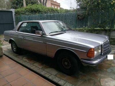 gebraucht Mercedes 230 CETecho solar, consola central en madera