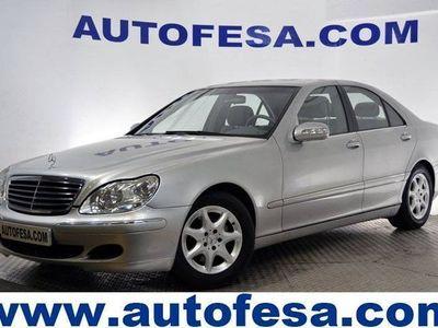usado Mercedes 350 Clase S CLASE245CV AUTO 4P # SUSPENSION NEUMATICOS
