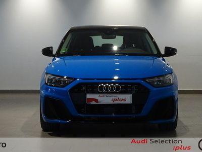 usado Audi A1 Sportback S line 30 TFSI 85 kW (116 CV) S tronic Gasolina Azul matriculado el 02/2019