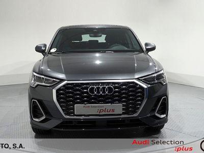 usado Audi Q3 Sportback S line 35 TFSI 110 kW (150 CV) S tronic Híbrido Electro/Gasolina Gris matriculado el 09/2020