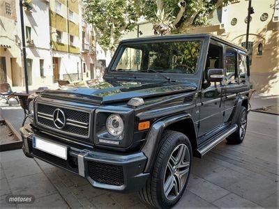 gebraucht Mercedes G500 Station Wagon Largo Aut. LOOK G63 AMG TECHO NAVI
