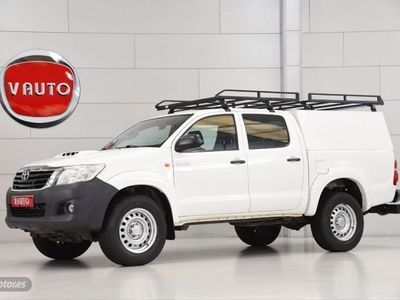 usado Toyota HiLux 2.5 D4D Cabina Doble GX Aire acond.