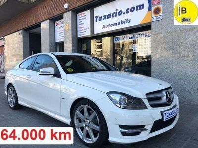 usado Mercedes C220 Clase CCDI Blue Efficiency Coupe