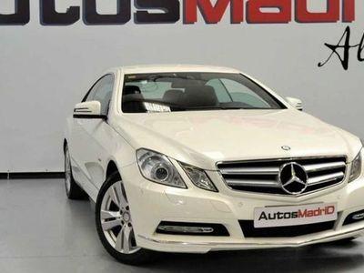 usado Mercedes 350 Clase E COUPeCDI BLUE EFFICIENCY ELEGANCE