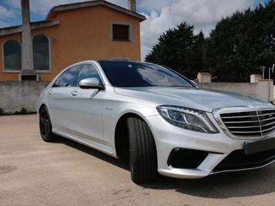 usado Mercedes S63 AMG AMG Clase W/V222 4M Largo Aut.