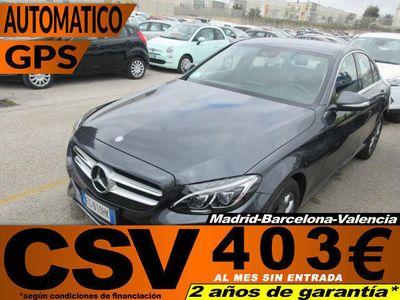 usado Mercedes C220 d Avantgarde 125 kW (170 CV)
