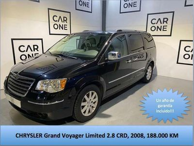 usado Chrysler Grand Voyager Limited 2.8 CRD Auto
