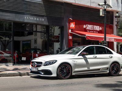 usado Mercedes C63 AMG AMG W205 AMG S 7G Plus