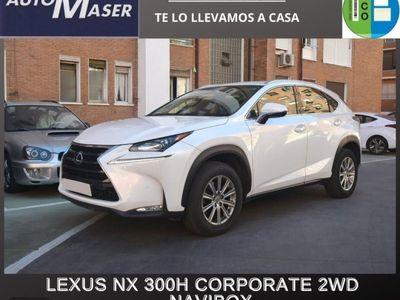 usado Lexus NX300h Corporate 2WD + Navibox
