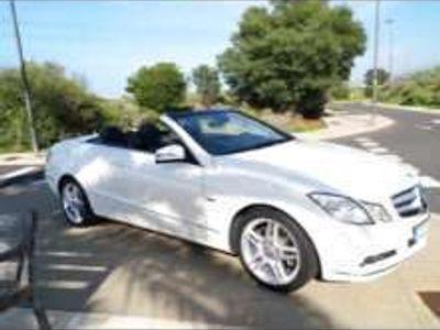 usado Mercedes E350 Cabrio CGI BE Aut.