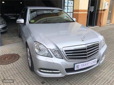 used Mercedes E350 Clase ECDI Blue Efficiency Avantgarde