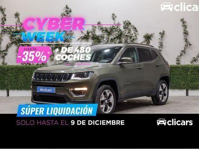 usado Jeep Compass 2.0 Mjt Limited 4x4 AD 103kW