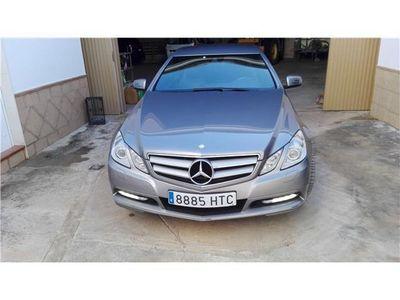 usado Mercedes E220 Coupé CDI BE BlueEfficiency Edition