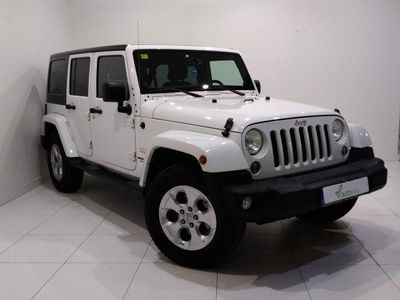 used Jeep Wrangler 2.8 CRD SAHARA UNLIMITED AUTO 200 5P