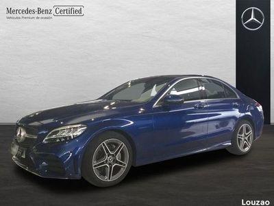usado Mercedes 220 Clase C Berlinad AMG Line (EURO 6d-TEMP)