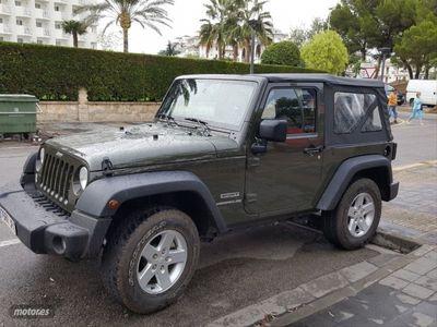 usado Jeep Wrangler 2.8 CRD Sport