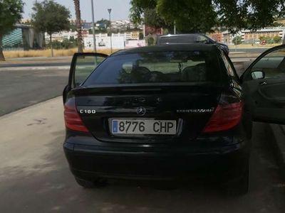 usado Mercedes C180 Sportcoupé K Black