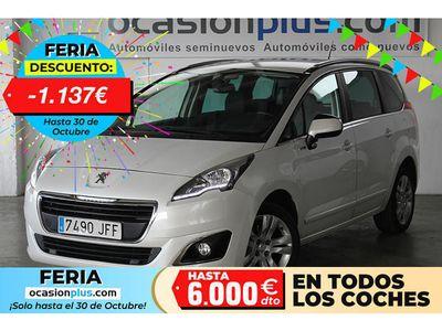 usado Peugeot 5008 1.6 BlueHDi Style FAP (120CV) 7 PLAZAS