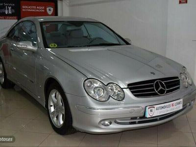 usado Mercedes CLK240 Clase CLKAVANTGARDE