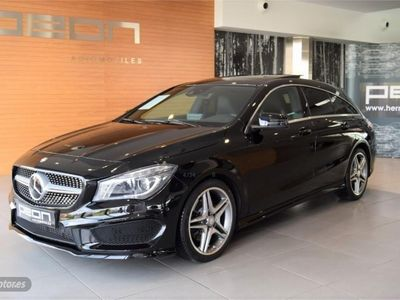 second-hand Mercedes CLA250 Shooting Brake AMG Line 7G-DCT
