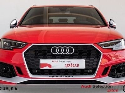 usado Audi RS4 Avant 2.9 TFSI quattro 331 kW (450 CV) tiptronic Gasolina Rojo matriculado el 04/2018