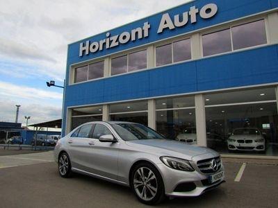 usado Mercedes 170 Clase C C220D Avantgarde 9G-TronicGris plata