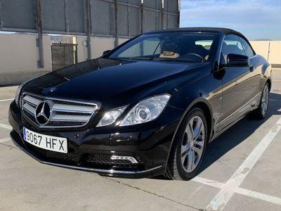 usado Mercedes 250 Clase E CabrioCGI BE Aut.