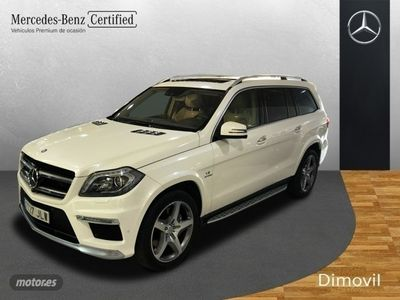 second-hand Mercedes GL63 AMG Clase GLAMG 4Matic