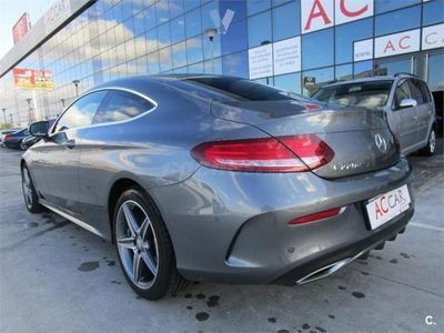 usado Mercedes 220 Clase C C CoupeD 4matic Amg Line 2p. -16