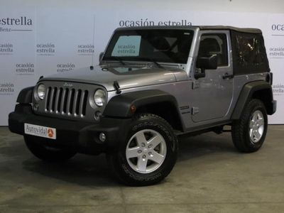 used Jeep Wrangler 2.8 CRD Sport
