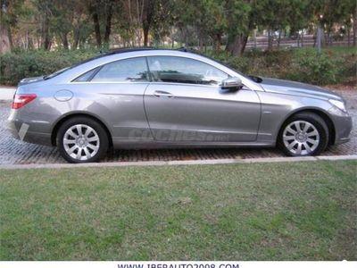 usado Mercedes E250 Clase E CoupeCdi Blue Efficiency Elegance 2p. -10